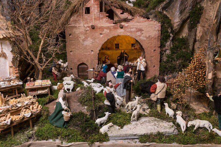 rappresentazione natività presepe aramengo