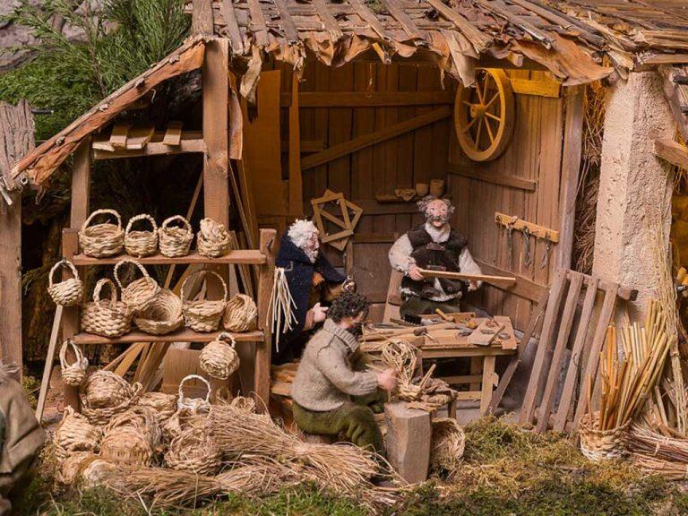 piccoli artigiani nel presepe di aramengo