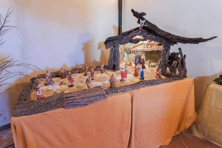 presepe di legno castagnole